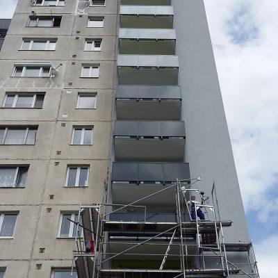 MS KOVO plus - balkony - Pod hajom - Dubnica (1)