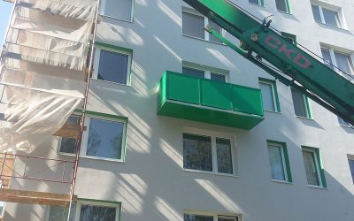 MS KOVO plus - balkony - Bazovskeho - Topolcany (1)