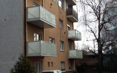 MS KOVO plus - balkony - Bratislava (1)