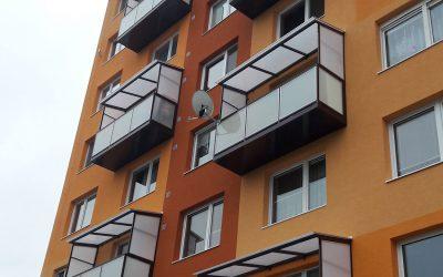 MS KOVO plus - balkony - Janka Krala - Partizanske (1)